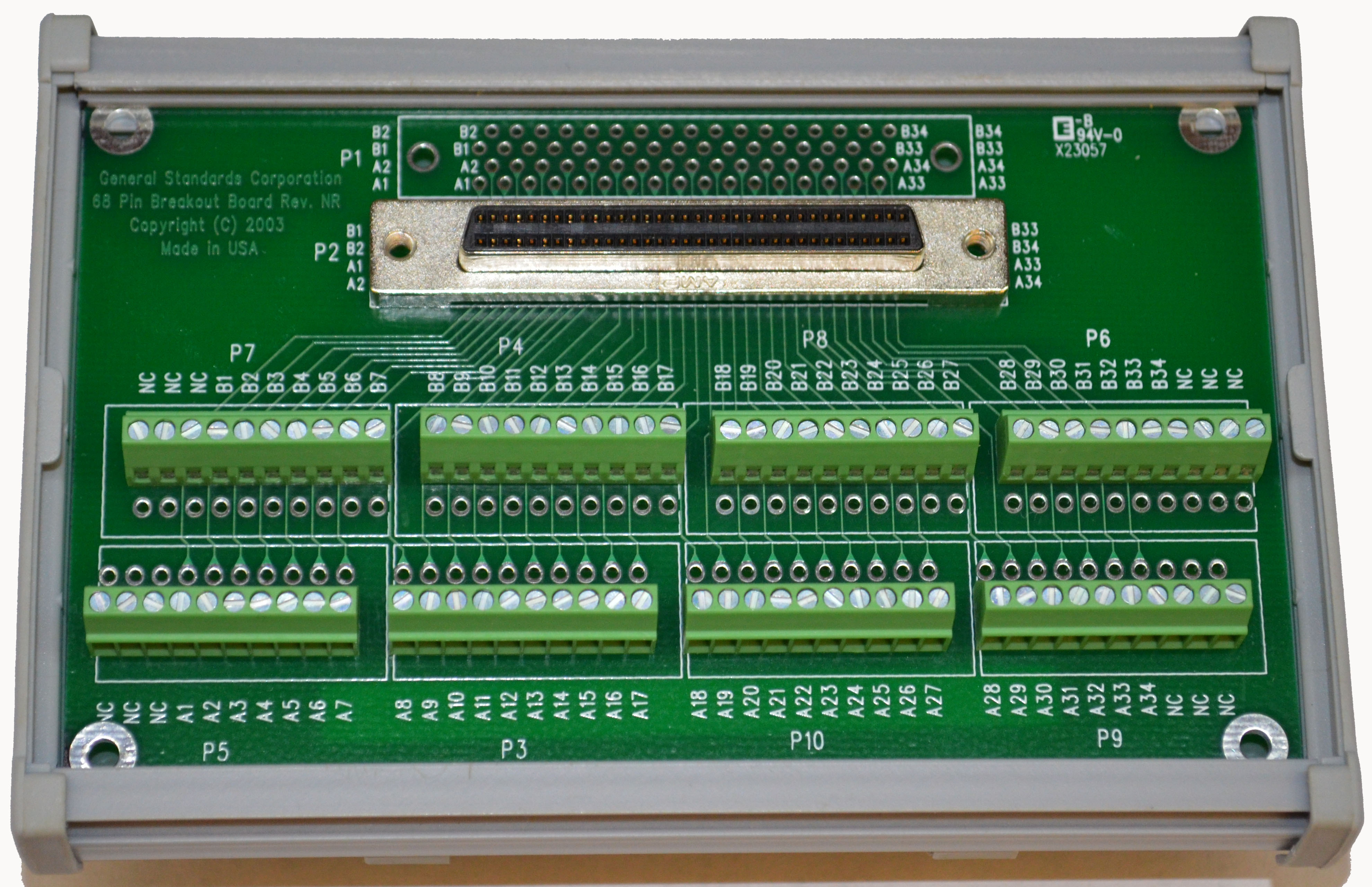 accessories note if screw clamp terminals and din rail enclosure for the pmc hpdi32a board would be cblifmod pmc hpdi32a 1 1